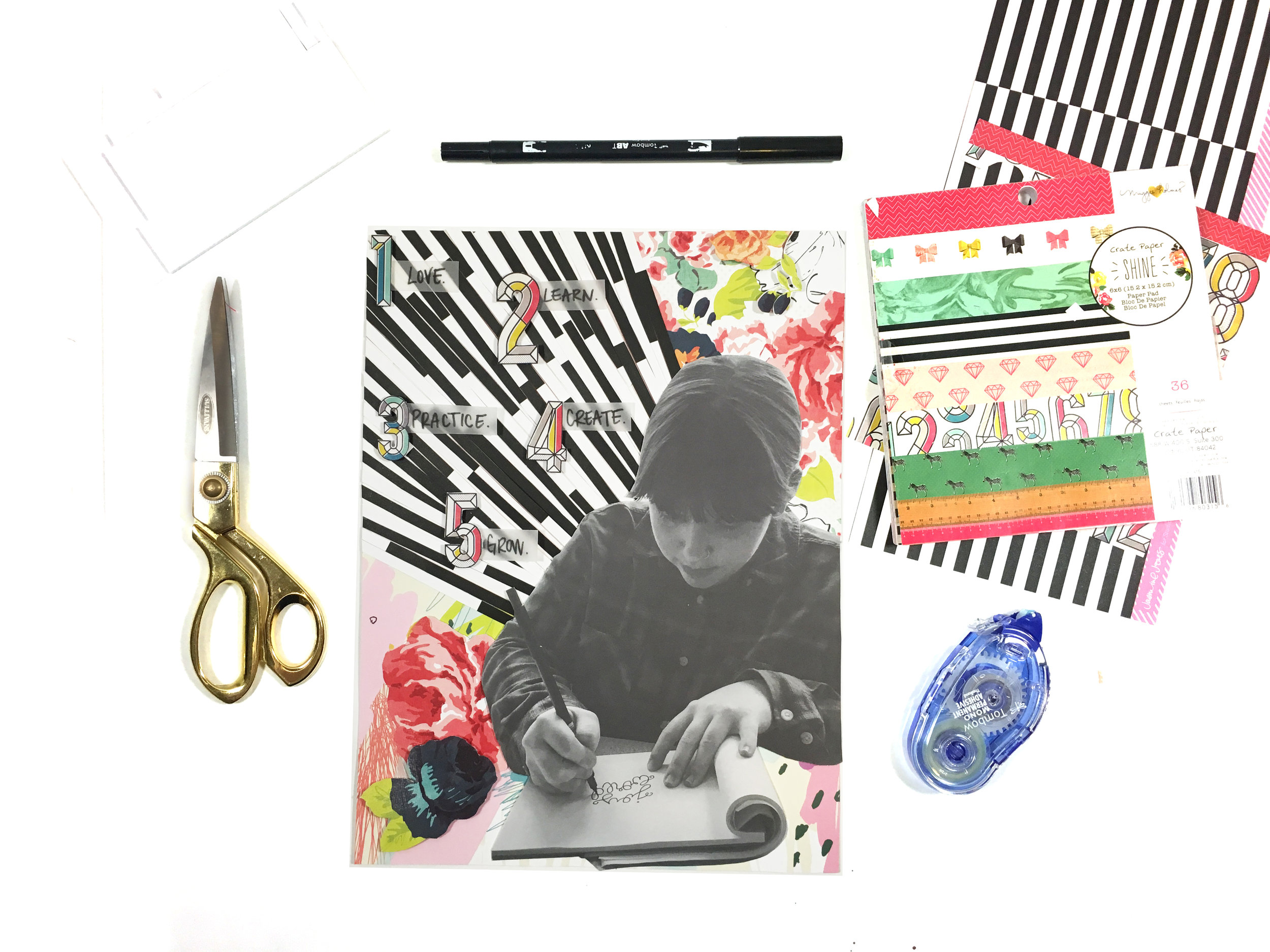 Scrapbooking with Lists | The Paper Curator