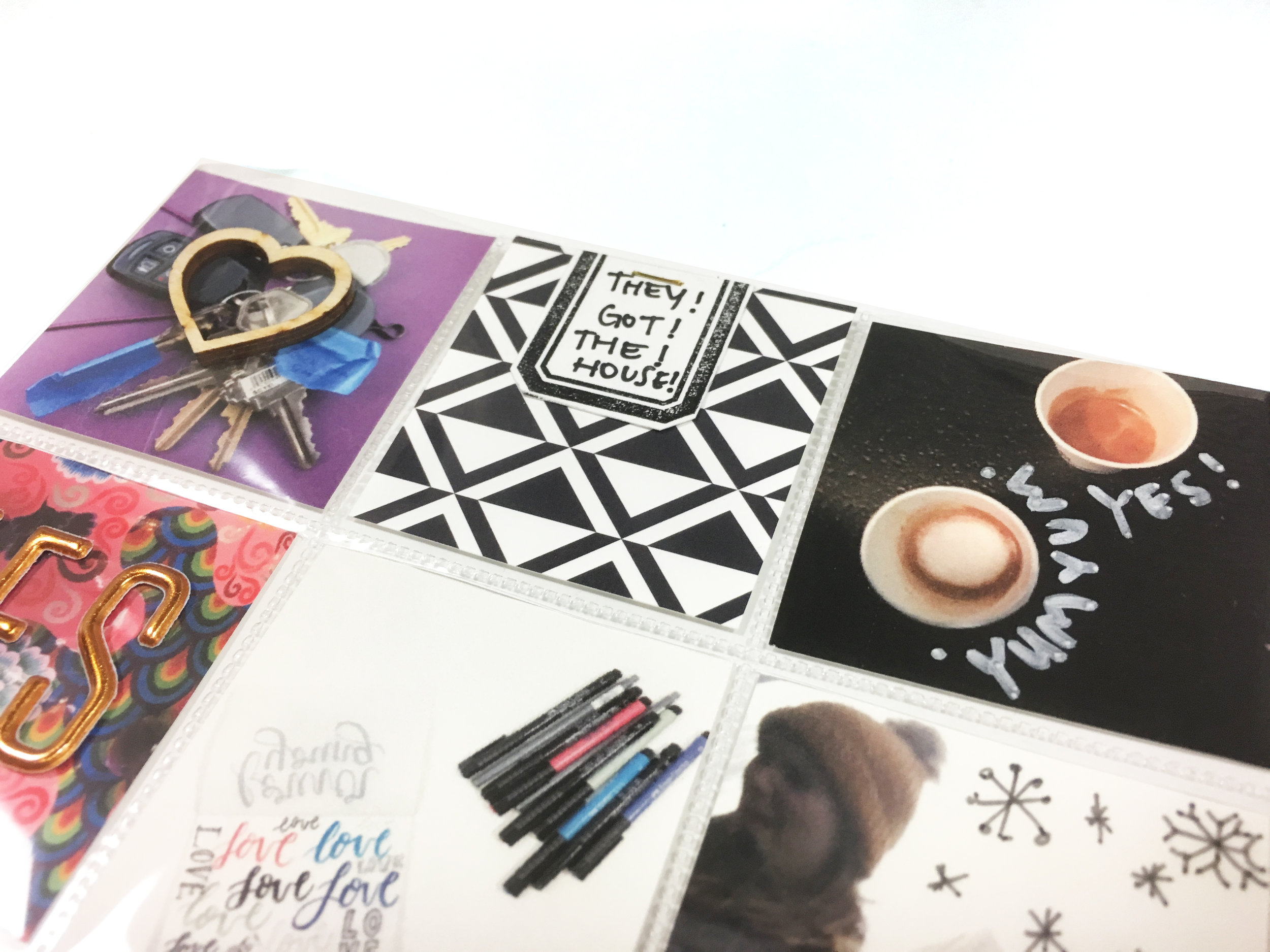 February Kit Sneaks | Project Life Page | The Paper Curator
