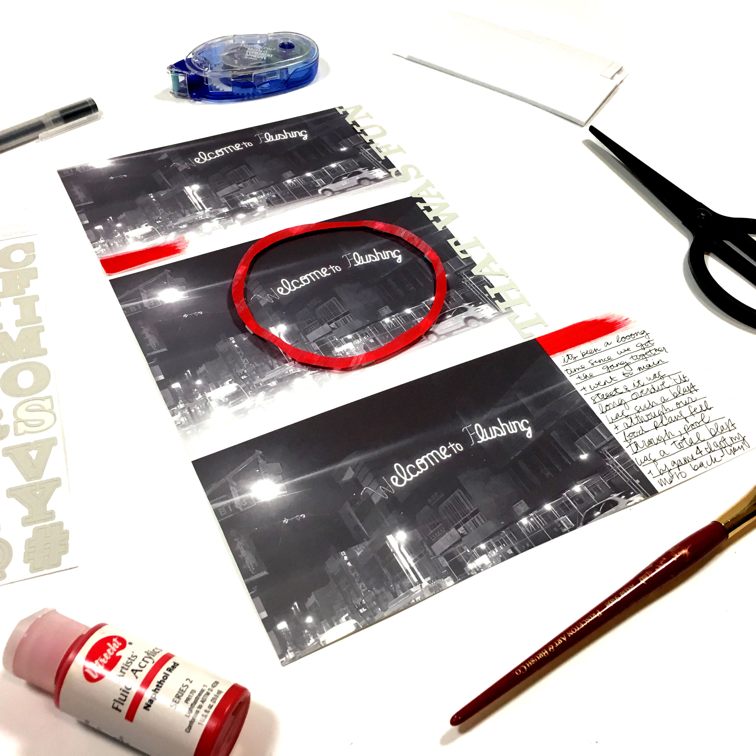 'That Was Fun' Scrapbook Layout | The Paper Curator
