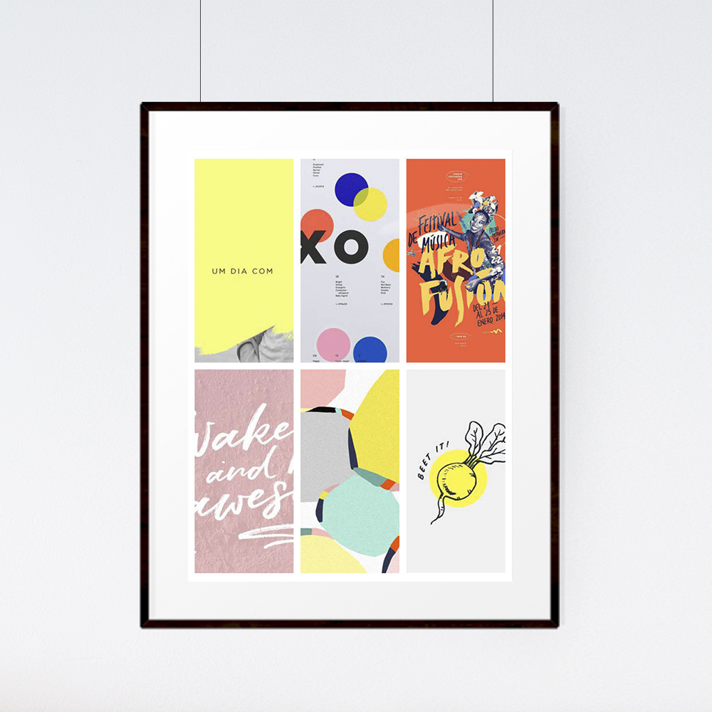 Weekly Inspiration with April Kit Mood Board | The Paper Curator