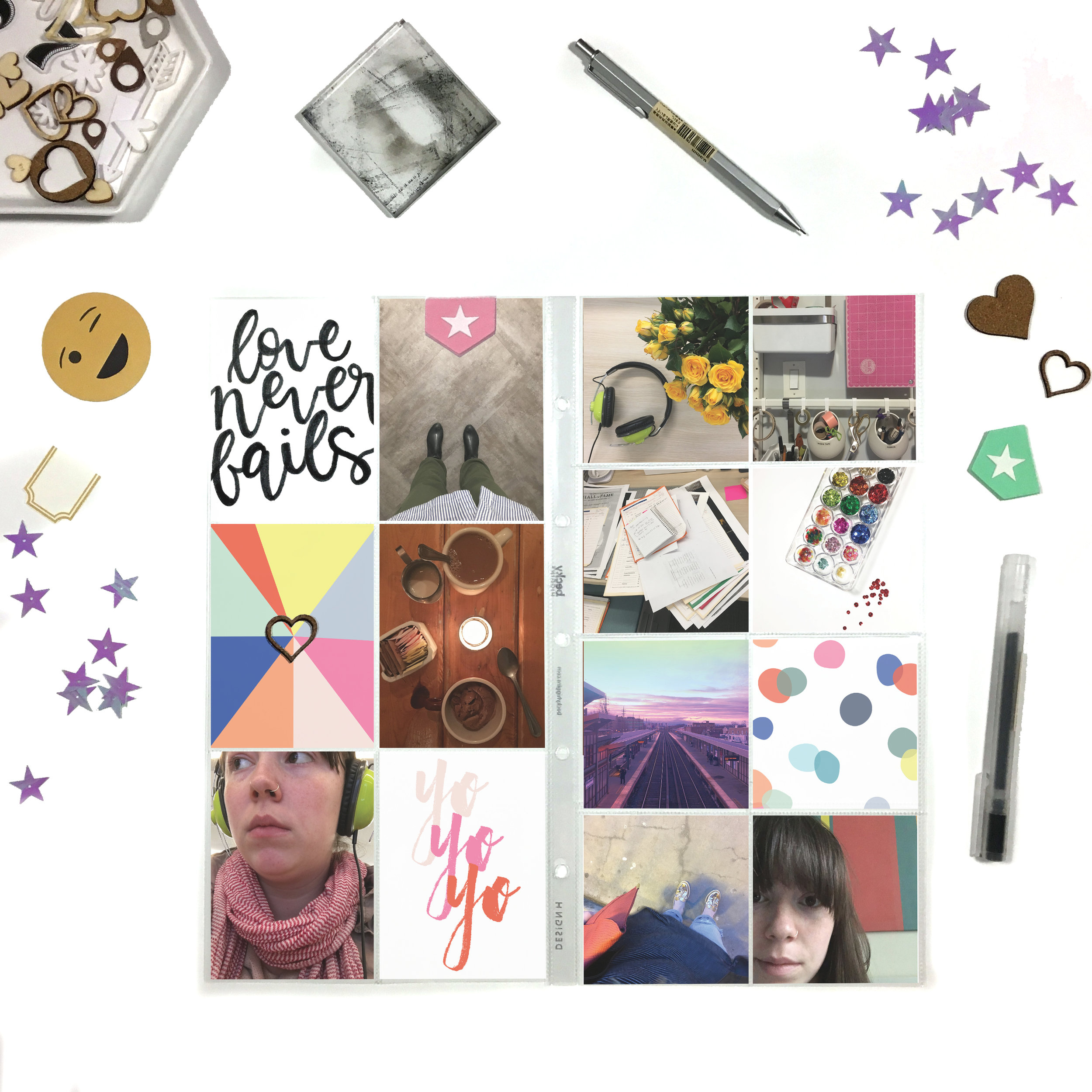 April Kit Sneaks | The Paper Curator