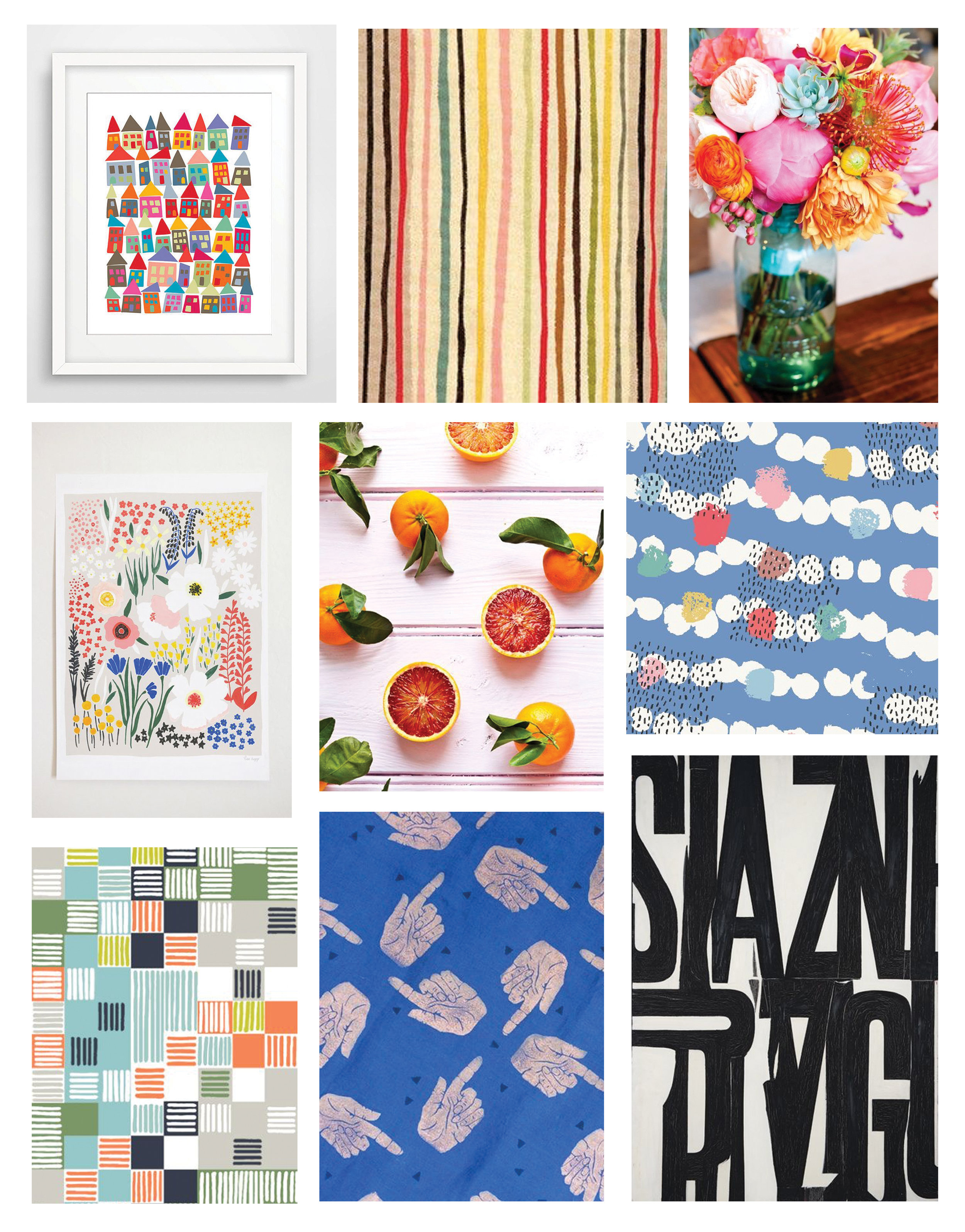 Inspiration for The Paper Curator May Kit–Monday Mood Board