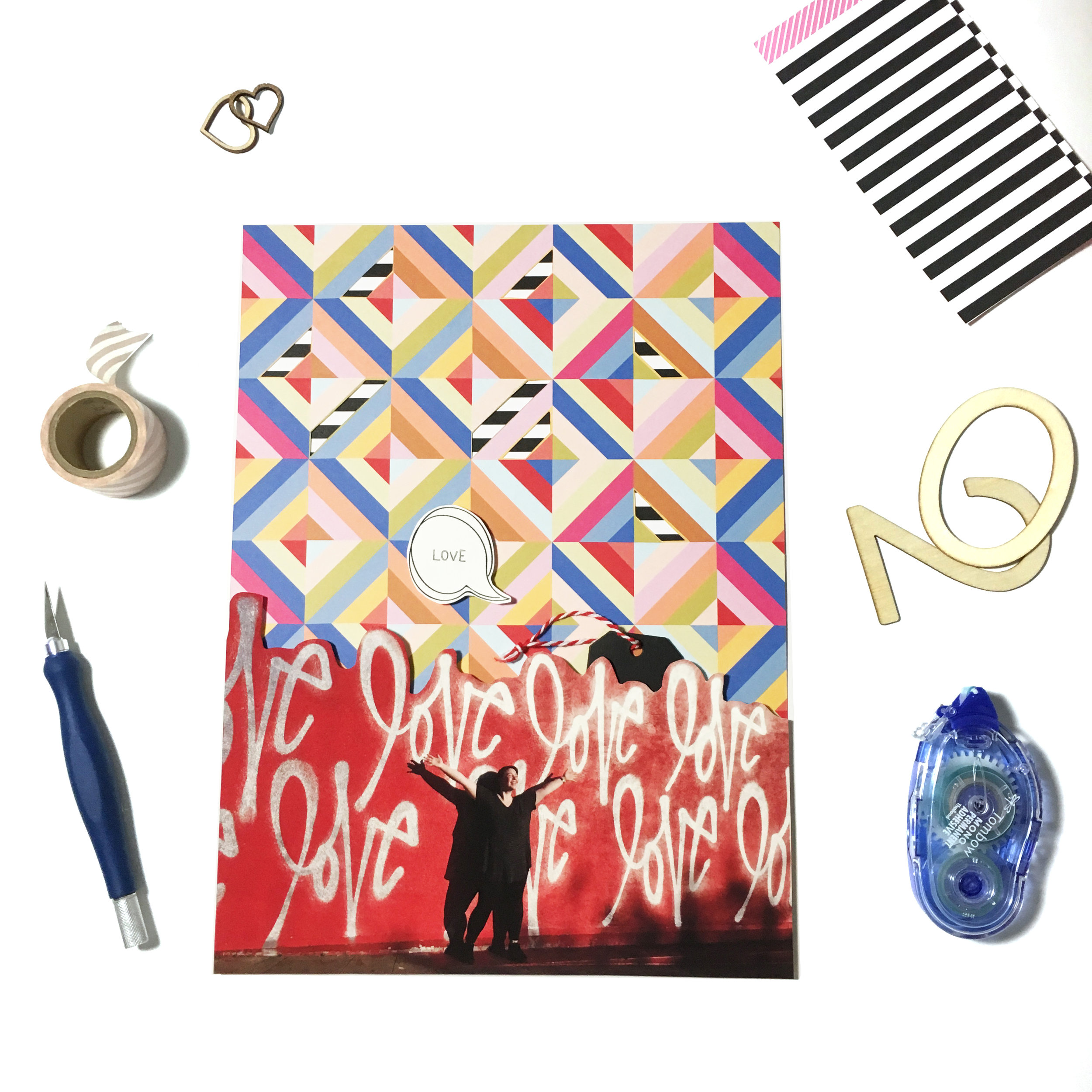 Scrapbook Sneaks for the May Kit | The Paper Curator