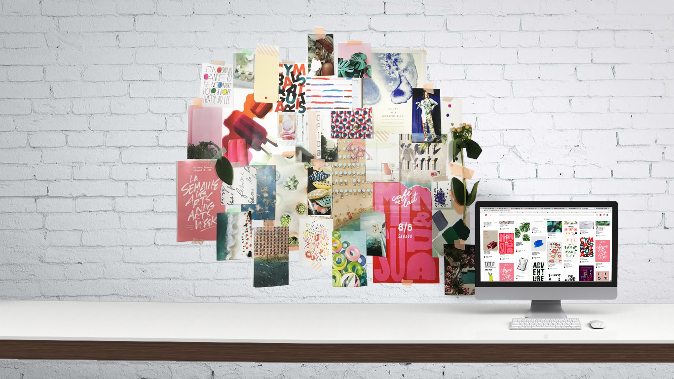 June Kit Mood Board | The Paper Curator