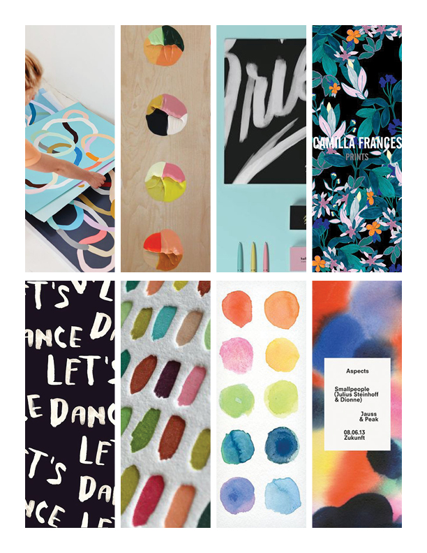 Weekly Inspiration with June Kit Mood Board | The Paper Curator
