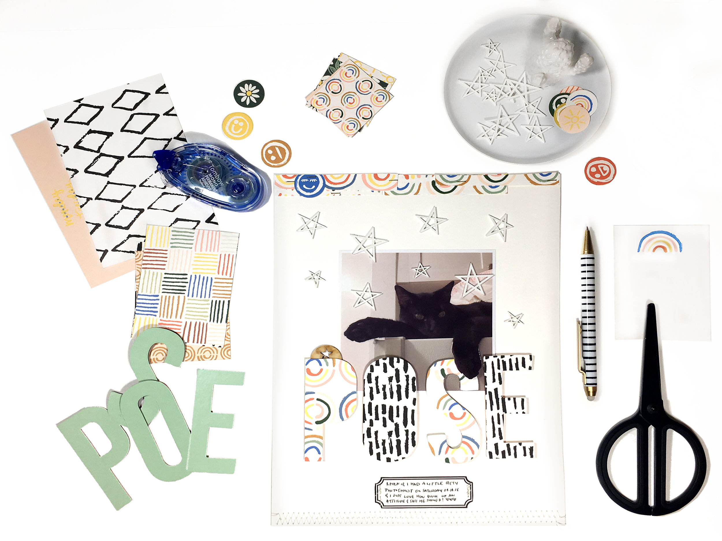April Scrapbook Kit, Using it 3 Ways | The Paper Curator