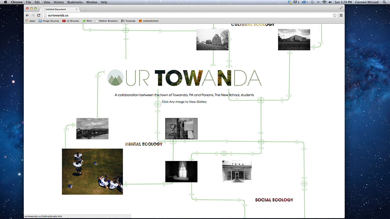 Website homepage (collaboration)