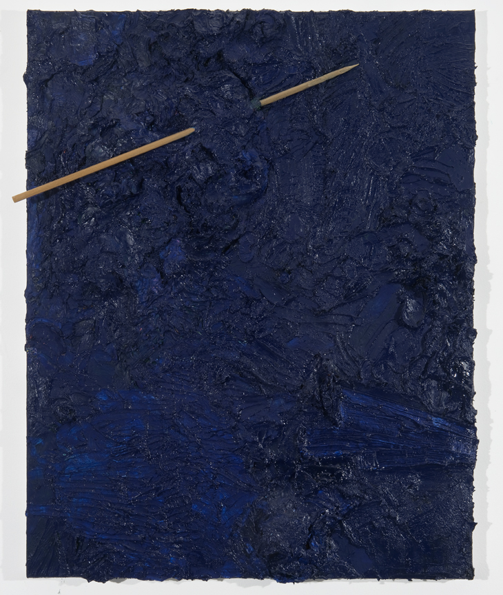Artemis, 2010 Oil and wood on canvas 28 x 22 inches