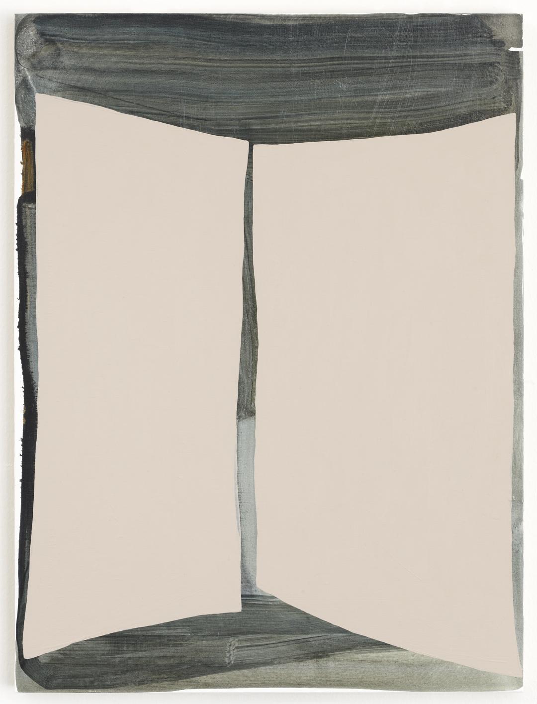 Henge, 2012 Acrylic on wood panel 24 x 18 inches
