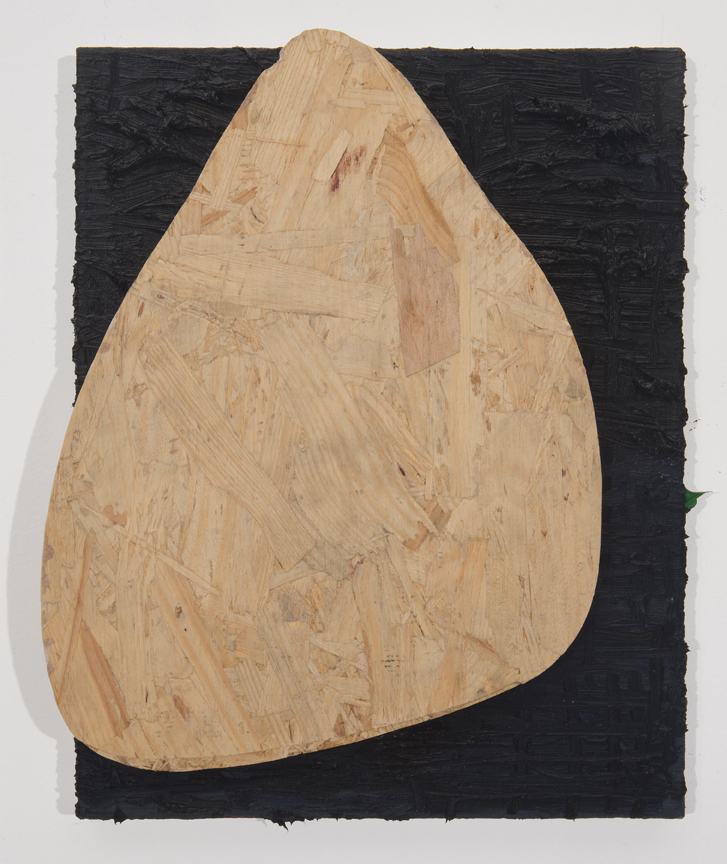 The Knocker, 2010 Oil and plywood on linen 14 x 12 inches