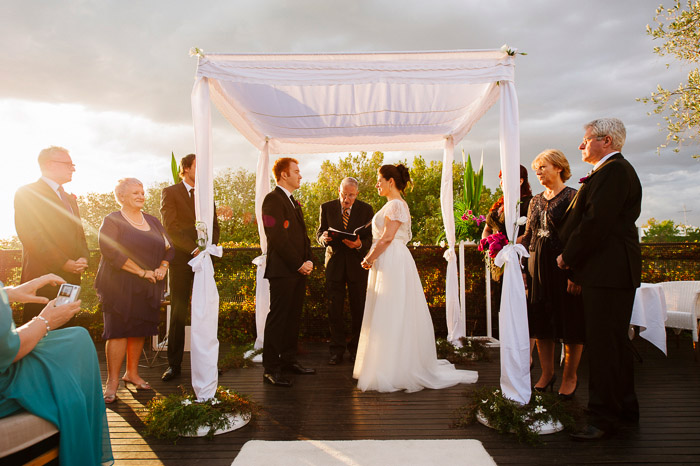 Amazing wedding Photos on The Deck at The Prince in St Kilda Melbourne