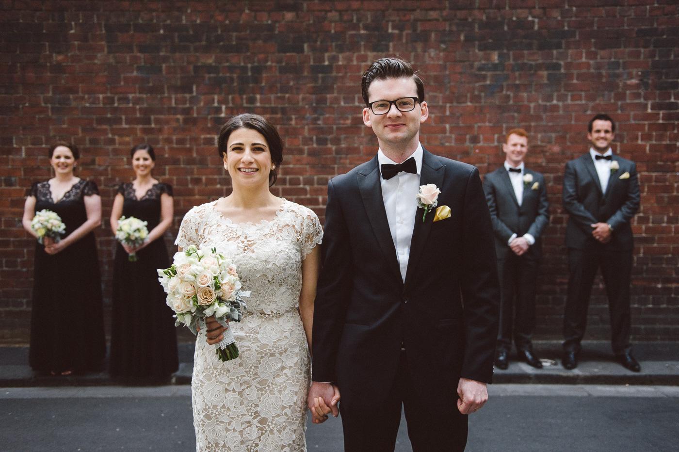 Melbourne-brickwall-wedding-photo
