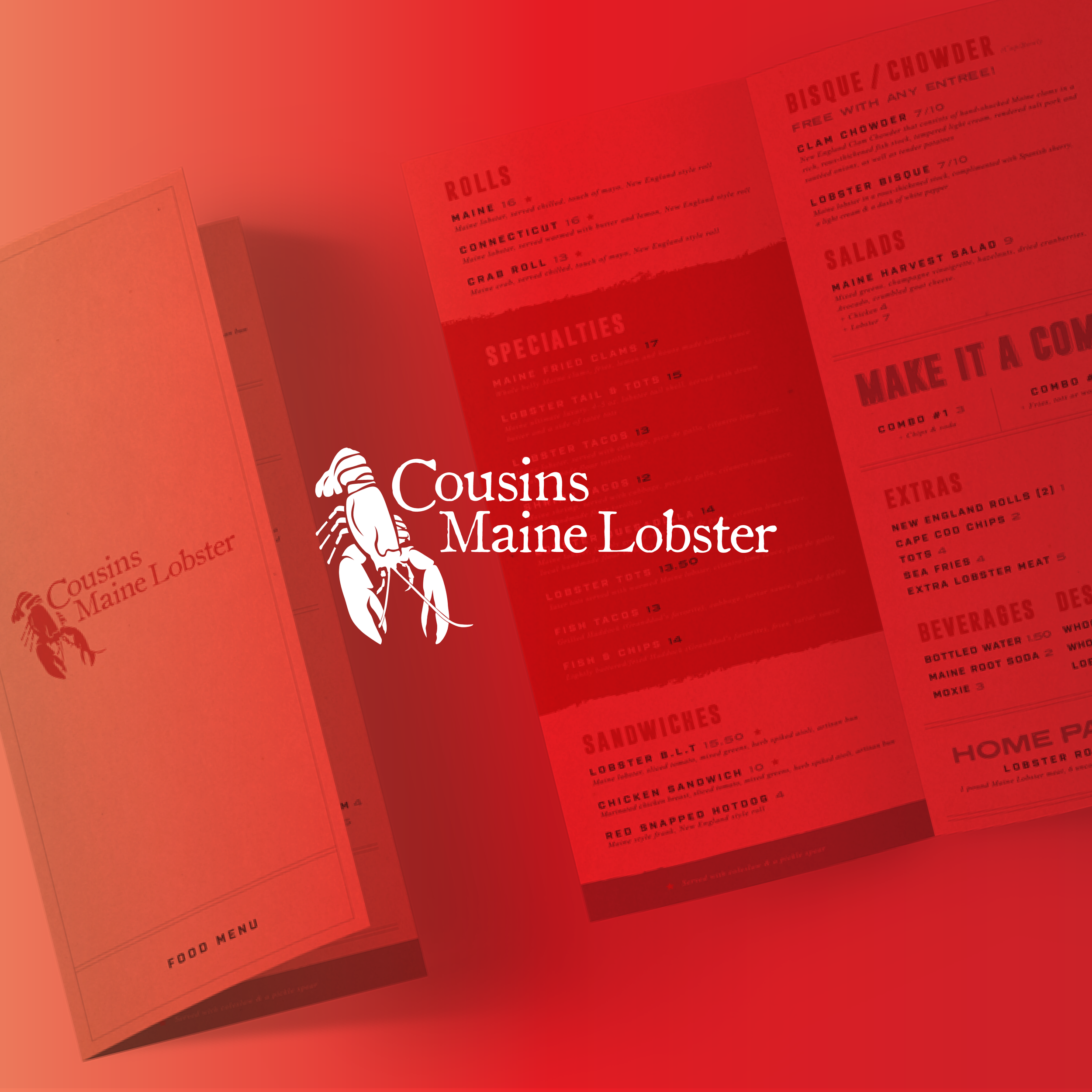 Cousins Maine Lobster Rebrand
