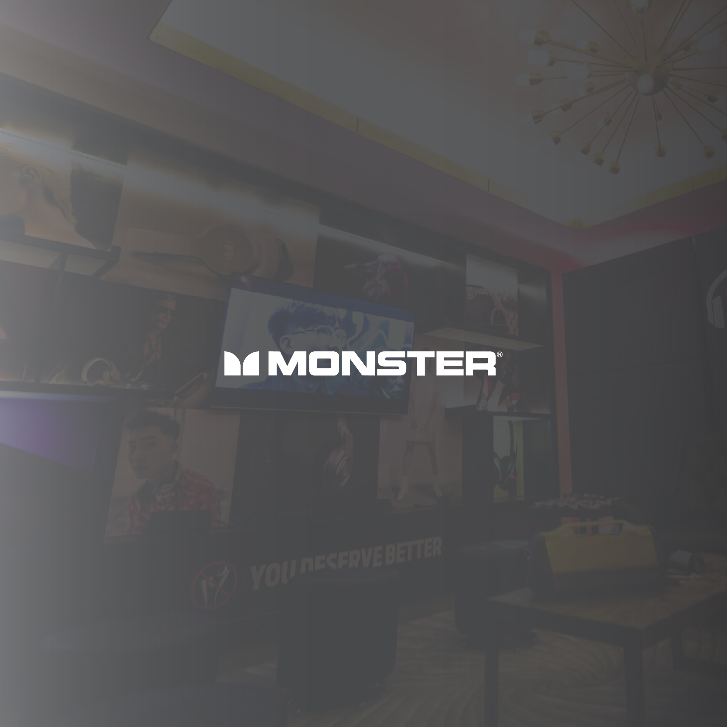 Monster x All Star Weekend Experiential Marketing Event