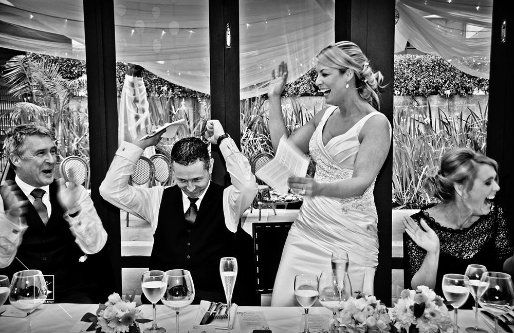 Wedding celebration photos