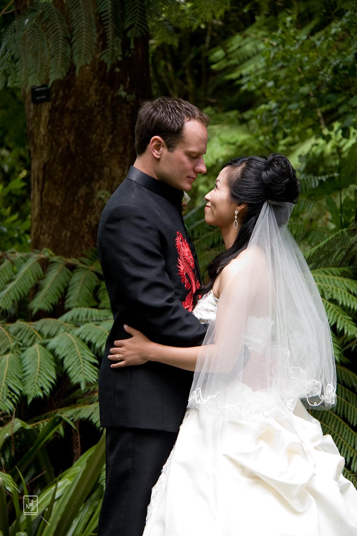 Wedding in the bush