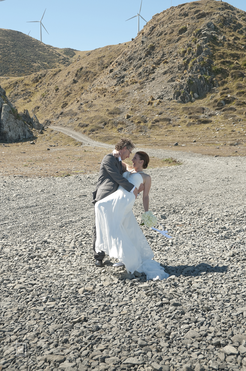 Wedding photos at the beach