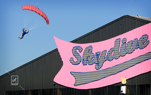Skydive photography