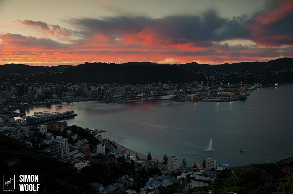 Wellington Mt Vic Red Sky_3PW0490.jpg