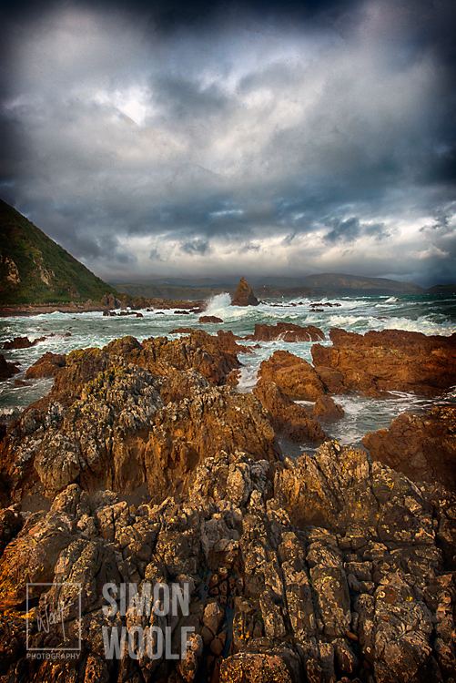 #3142, Shag Rock Storm and Waves