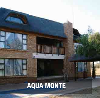 AQUA MONTE.Comfortable house in well known complex. Close to main shopping centres and medical facilities. Quiet area with double garage, 2 bedrooms, 1 bathroom and lovely kitchen. Open plan living areas. Secure access.  PRICE: R760 000