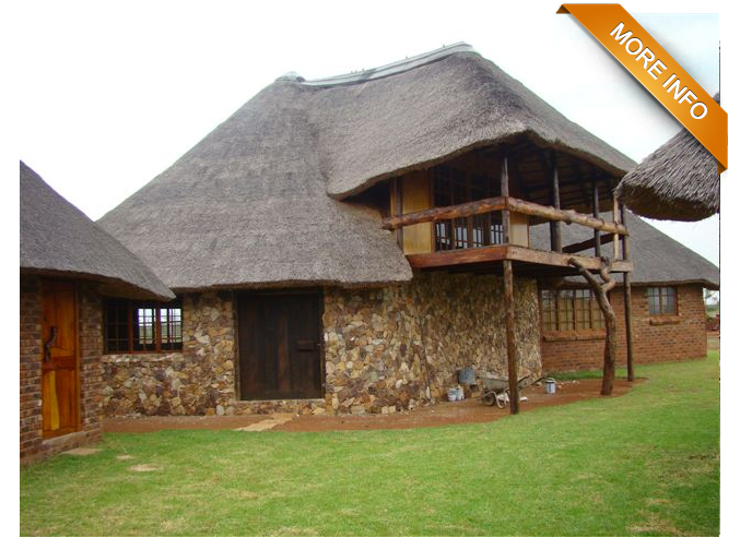 Ref: PS0038 |  Beautiful 43 ha farm, 7km from Bela Bela.       Two title deeds. Main home with en-suite bedroom & dressing room.    Open plan kitchen, dining room & living room. 2 Separate guest rooms.    Lovely garden, Koi fish dams, enclosed lapa, garage with store room, laundry    room & office. Safe & secure with game fencing, alarm system, electric fencing    around home.     PRICE: R4 300 000