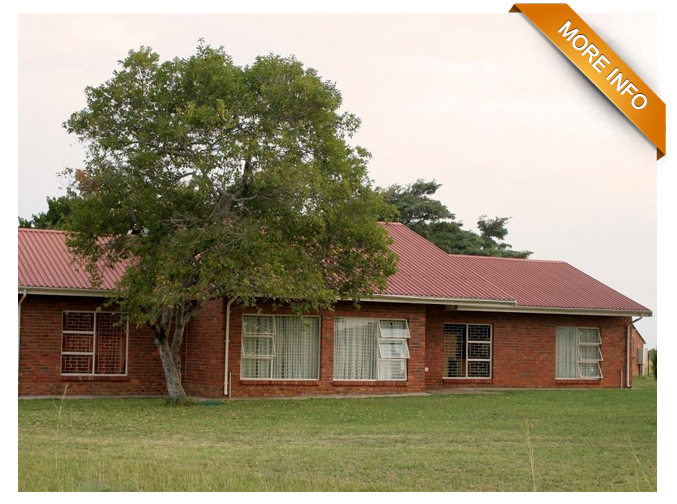 Ref: PS0041 |Well developed 203 ha farm.    Neatly appointed within easy driving distance from Gauteng on fully tarred roads.Beautiful nature, plentiful water, sturdy and neat dwelling80% savannah  fields and 20% old lands.Direct access from main road.In close proximity of  major, well established, prime tourist destinations such as Etosha Nature Reserve, Mabalingwe Nature Reserve, Zebula Country Club and Spa and Mabula Nature Reserve.    PRICE: R4 700 000