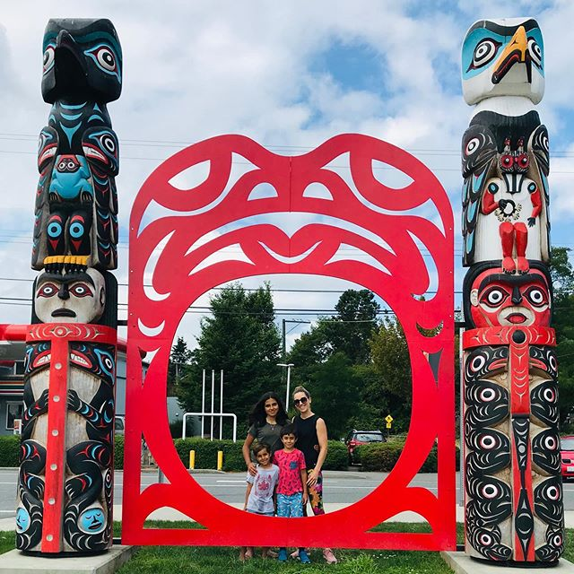 Portal to our past, present and future. #nanaimo #britishcolumbia #canada #vancouverisland #family #indiginous #firstnations