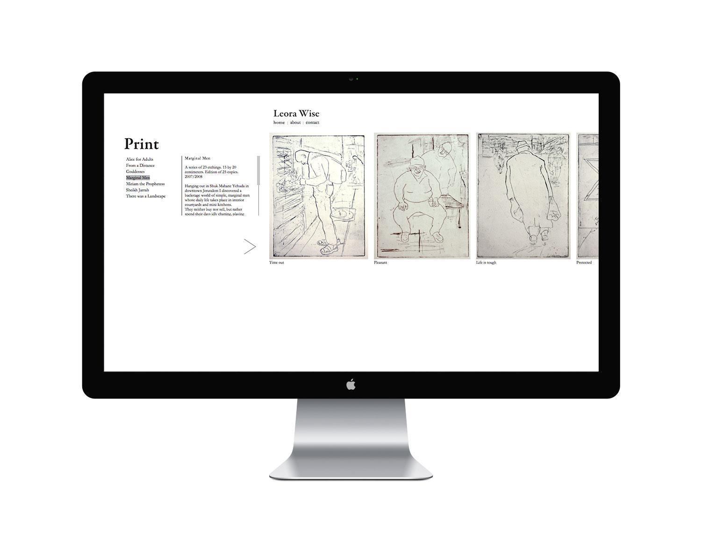 Copy of ליאורה וייס אמנית אתר אינטרנט