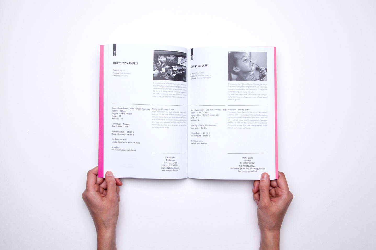 CoPro branding and design documentary A series of three catalogs