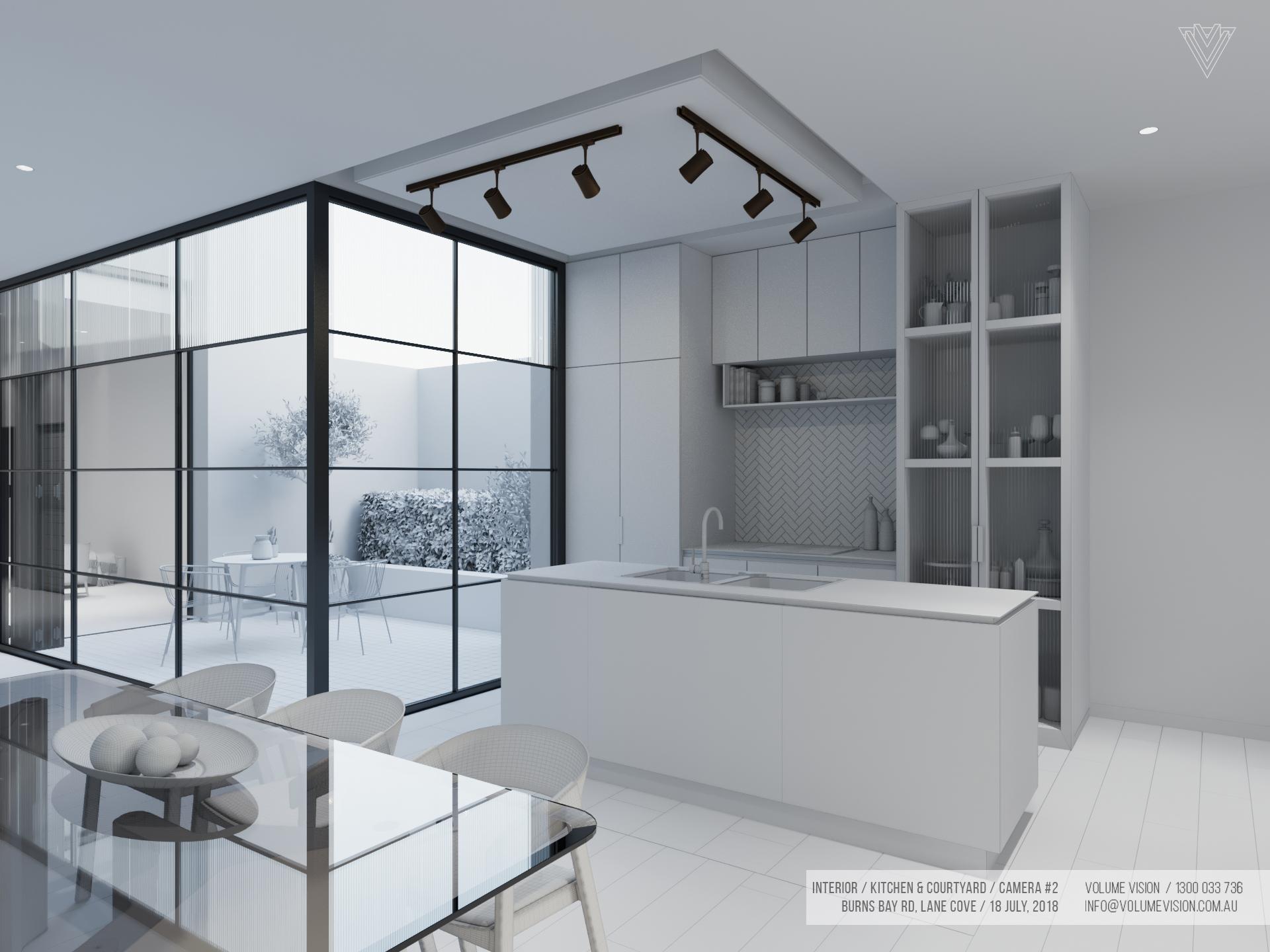 Interior_Kitchen & Courtyard _Burns_Bay_Camera_#2.jpg
