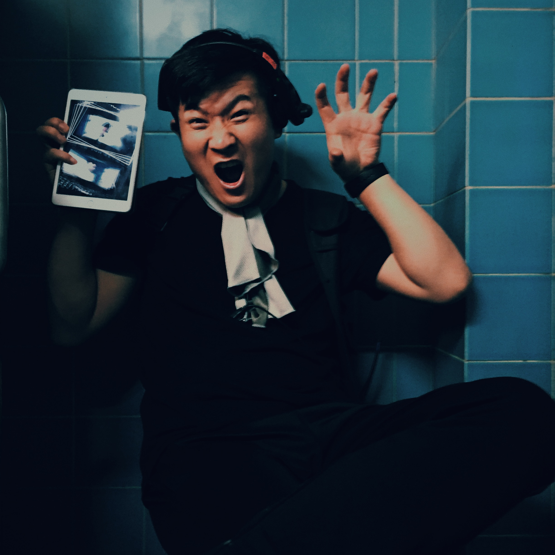 Zhangyong and his Ipad