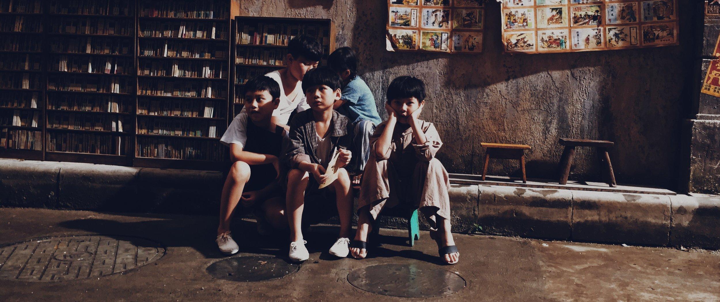 Feng Ge and his gang