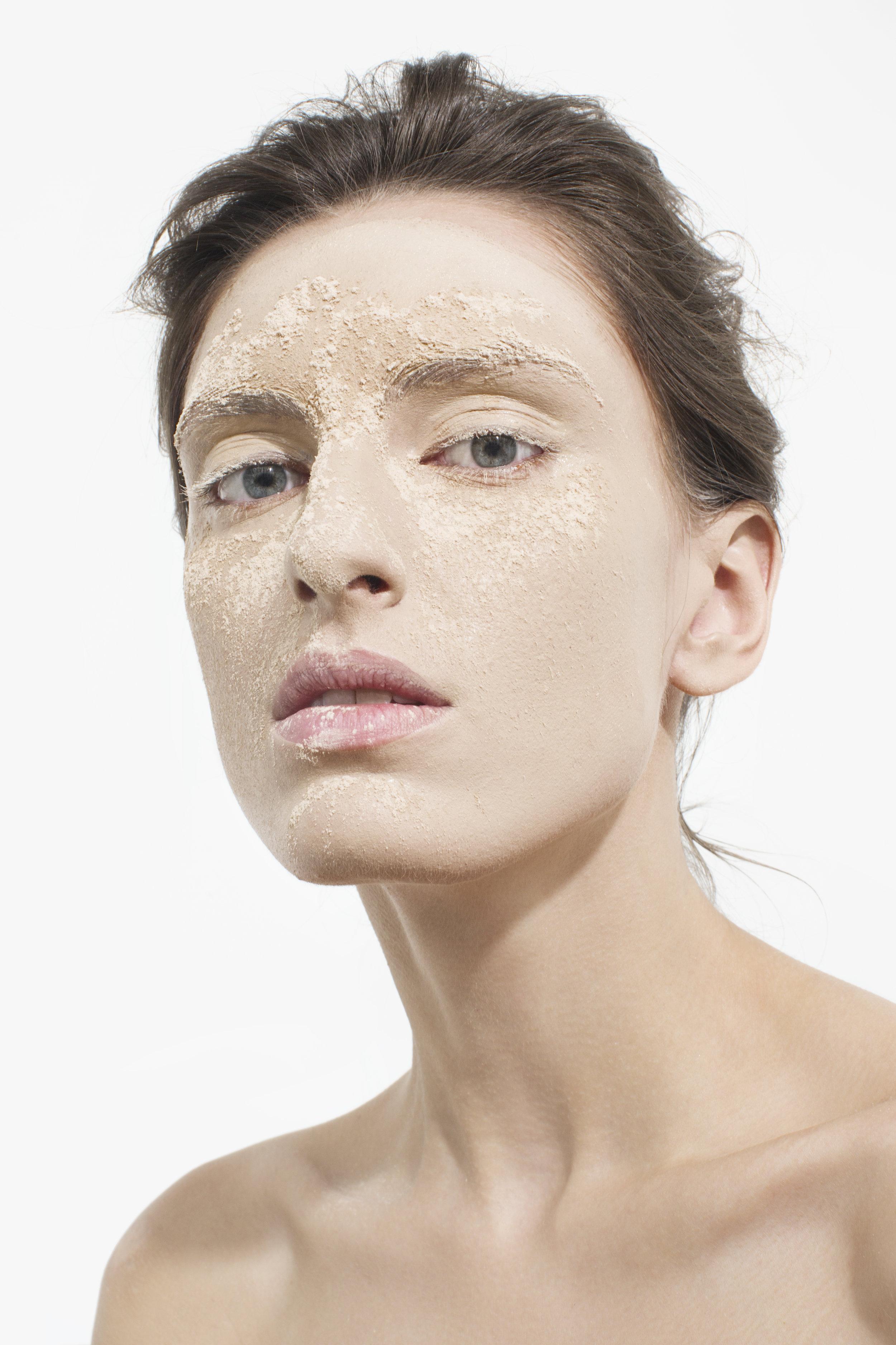 Beauty editorial for Wonderzine