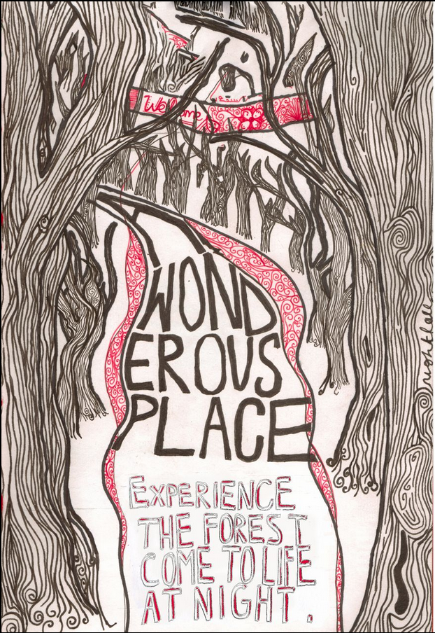 A Promotional piece in Response to a brief for A Tree Museum
