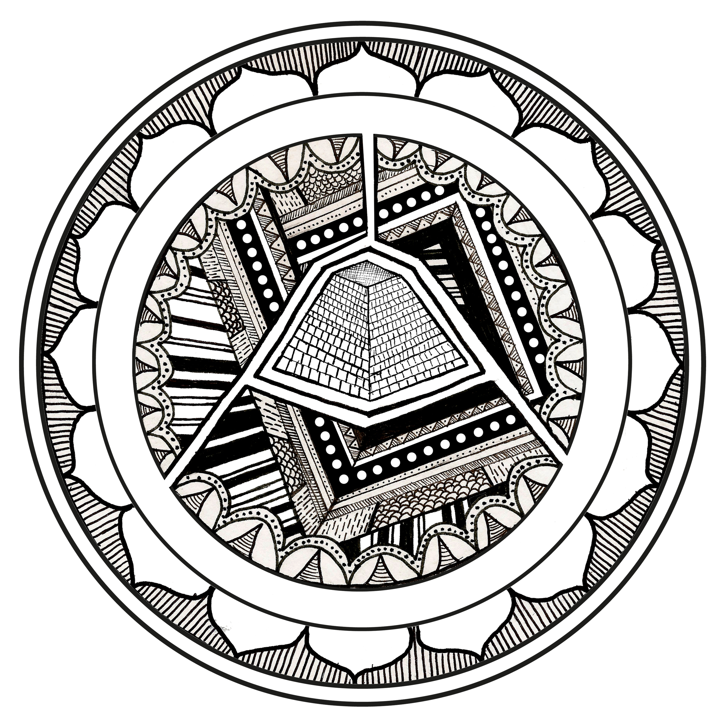 Illustration for Mellowtone Flyer