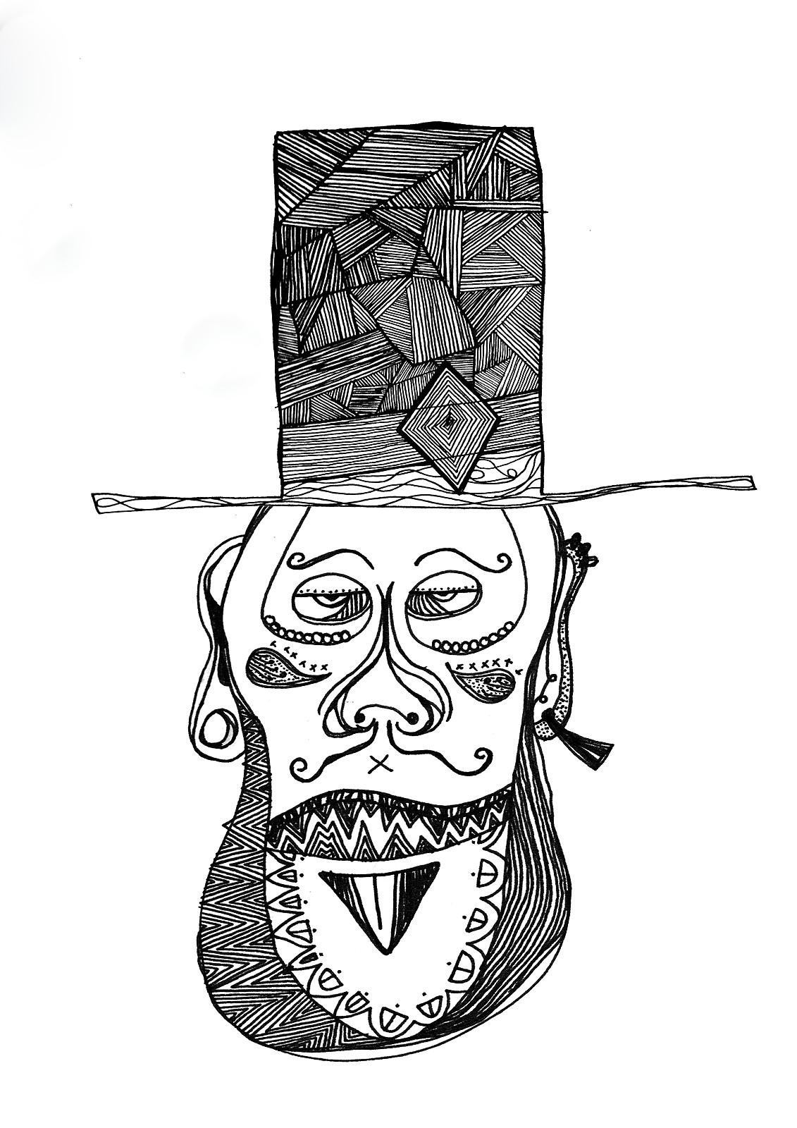 Editorial Illustration for Salford Unviersity Carnival Zine