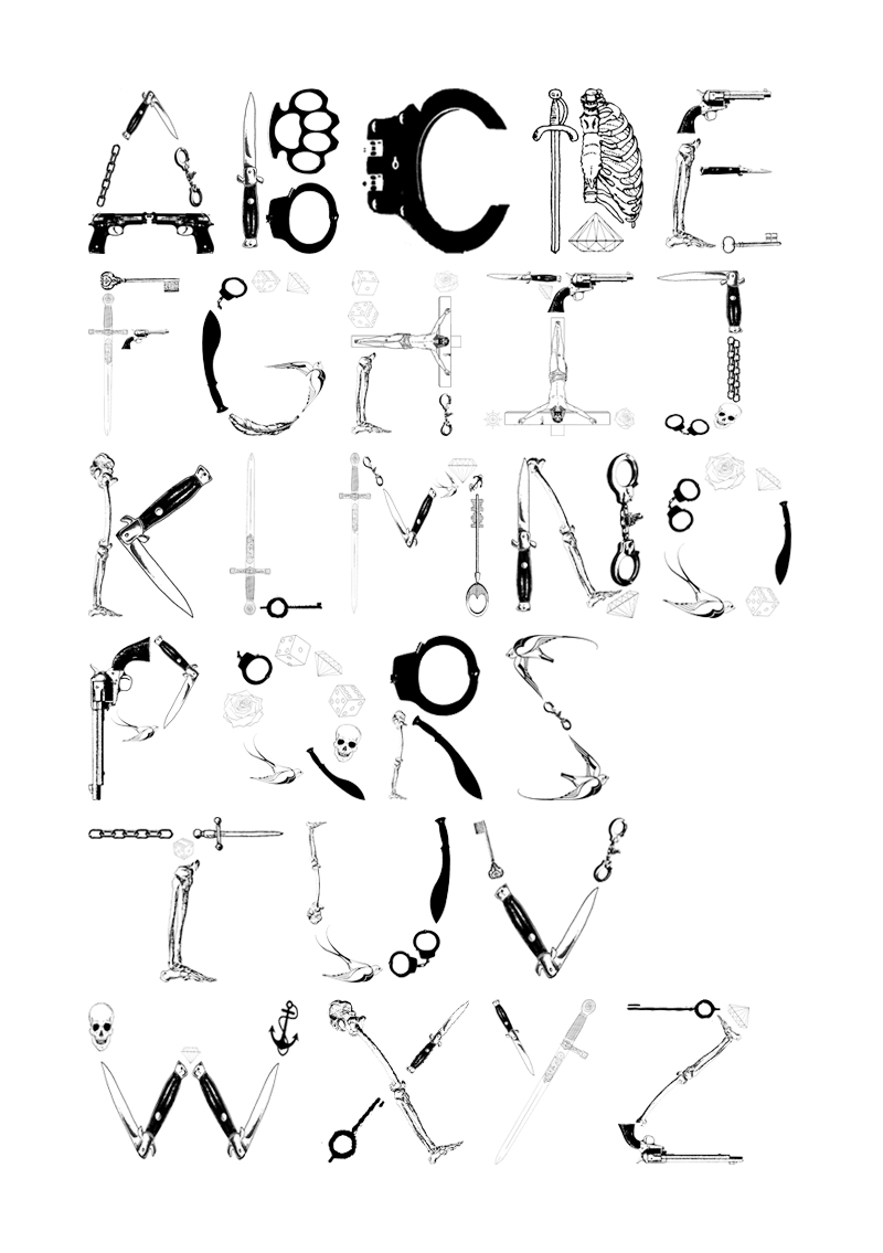 Typeface for Salford Type Foundry   http://salfordtypefoundry.co.uk/