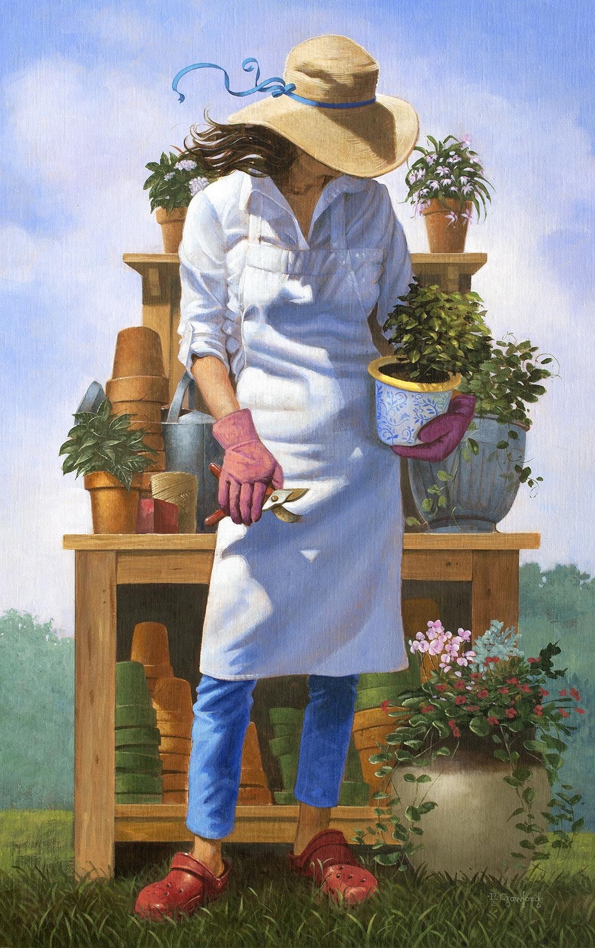 The Gardener 20x36