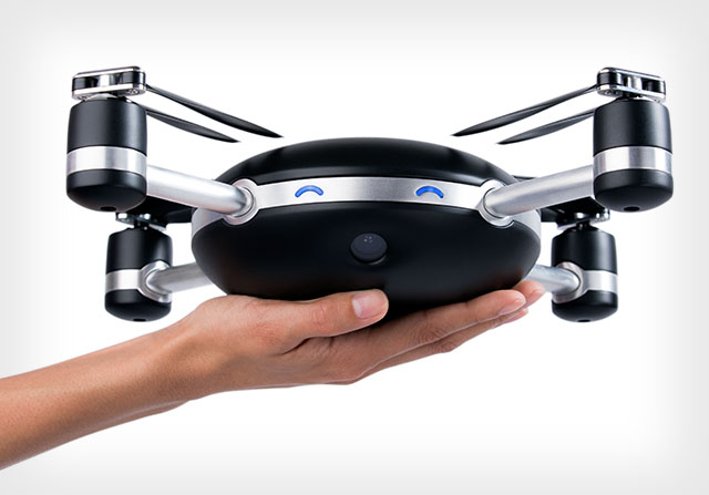 The Lily Camera drone offers autopilot supposedly so reliable, it doesn't even come with a controller.