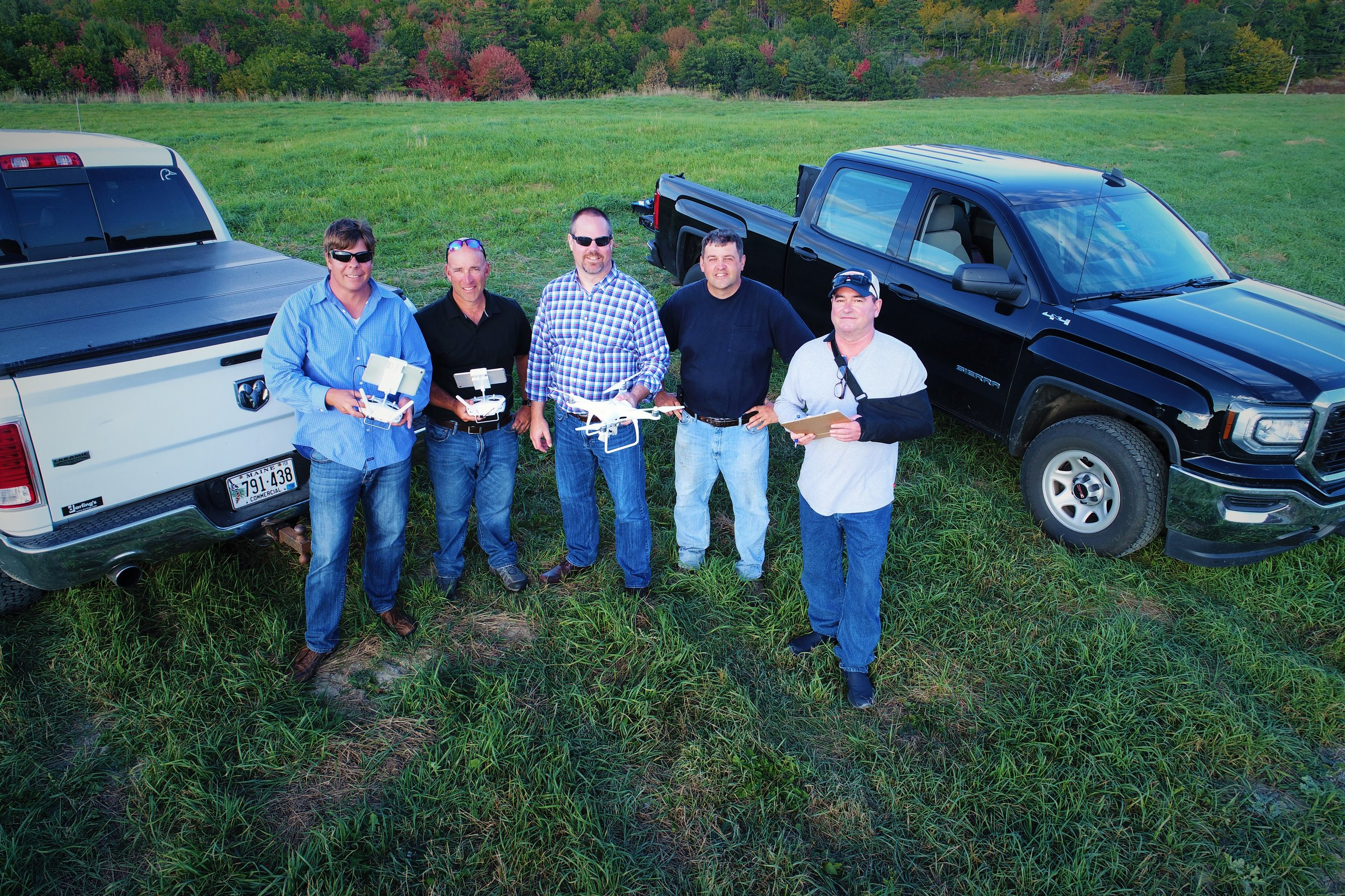 Hire land surveyors