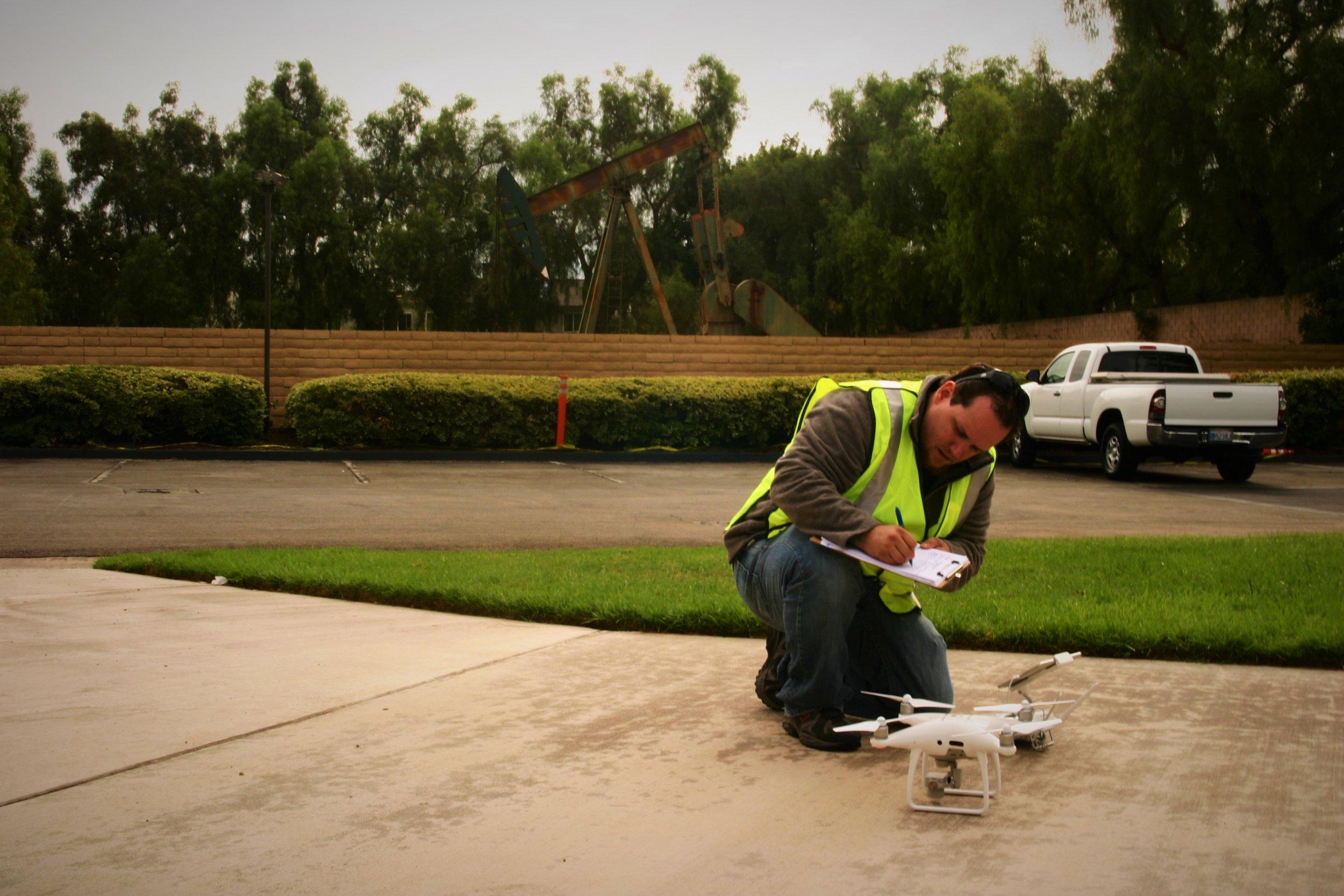 Surveyor drone pilot