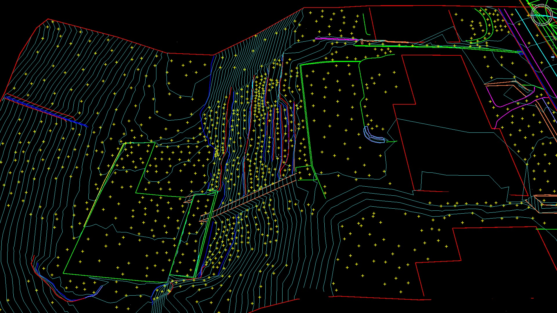 Drone CAD line-work
