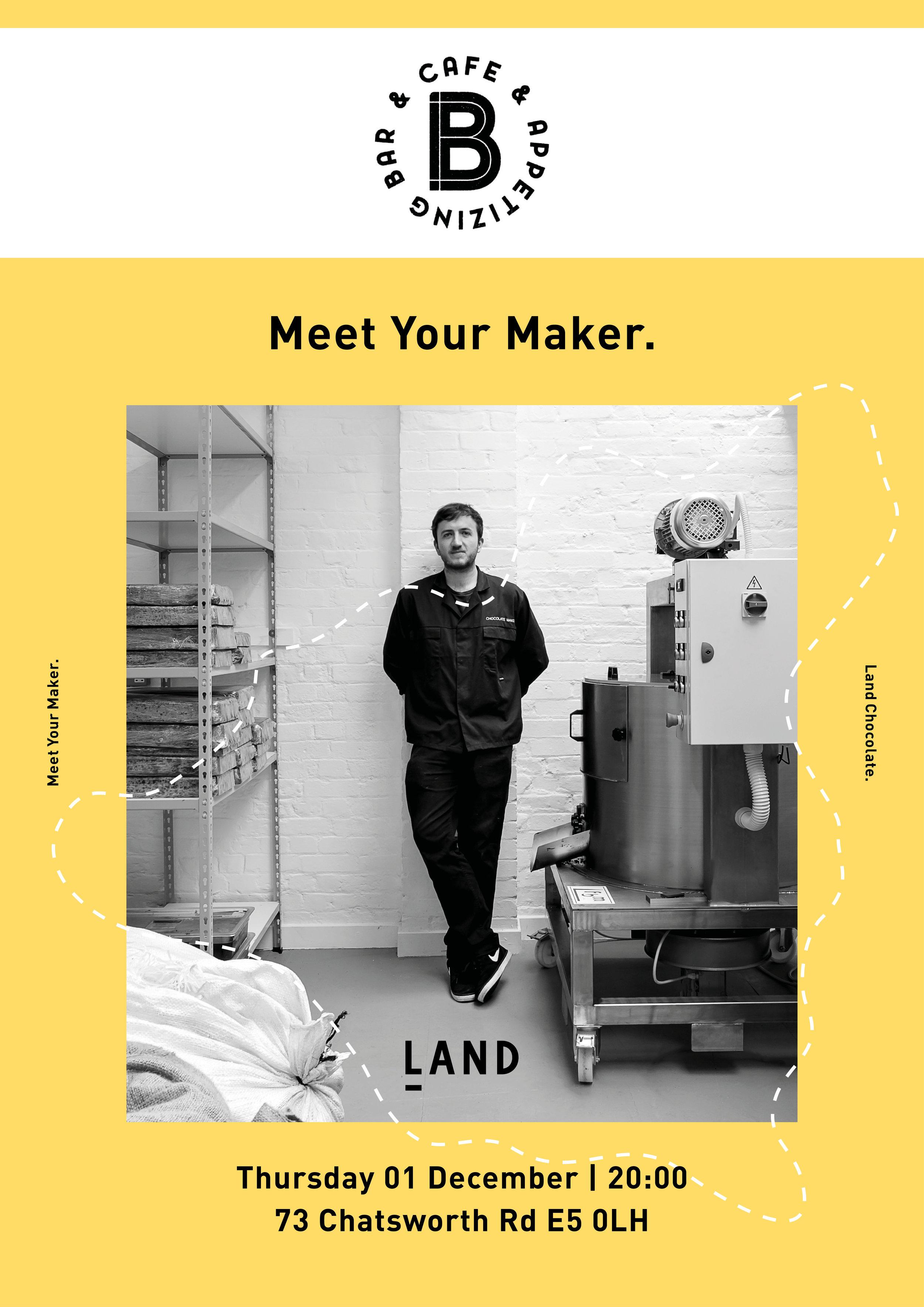 MEET YOUR MAKER // BERNSTEINS BAR