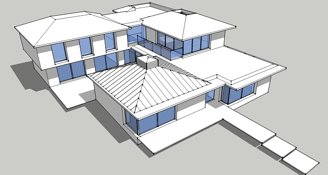 Our role  - PHPP & SAP calculations, advice on services & energy efficiency.   The project  - new build near Chichester harbour.