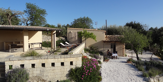 Our role  - design & build including high levels of insulation & air-tightness + biomass, + photovoltaic + solar hot water.   The project  - deep retrofit near Noto, Sicily