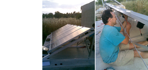 Our role  - design and install an off- grid solar photovoltaic system to provide sole power for the property.   The project  -new-build near Avola, Sicily