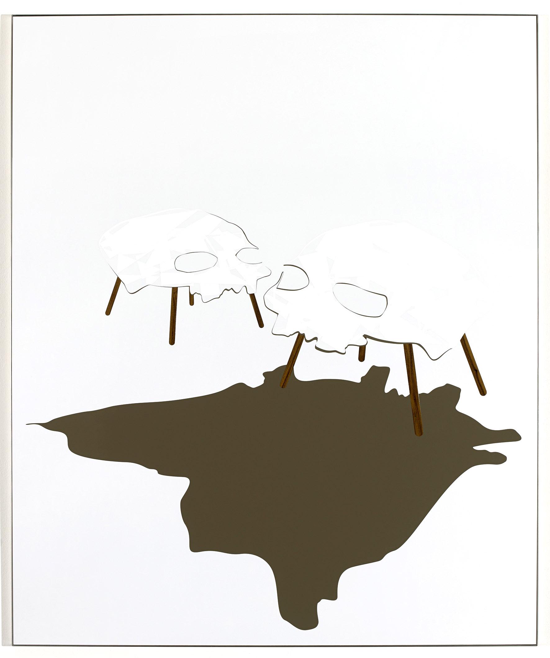Sans titre (Intérieur #3, la peau sur les os), 2014