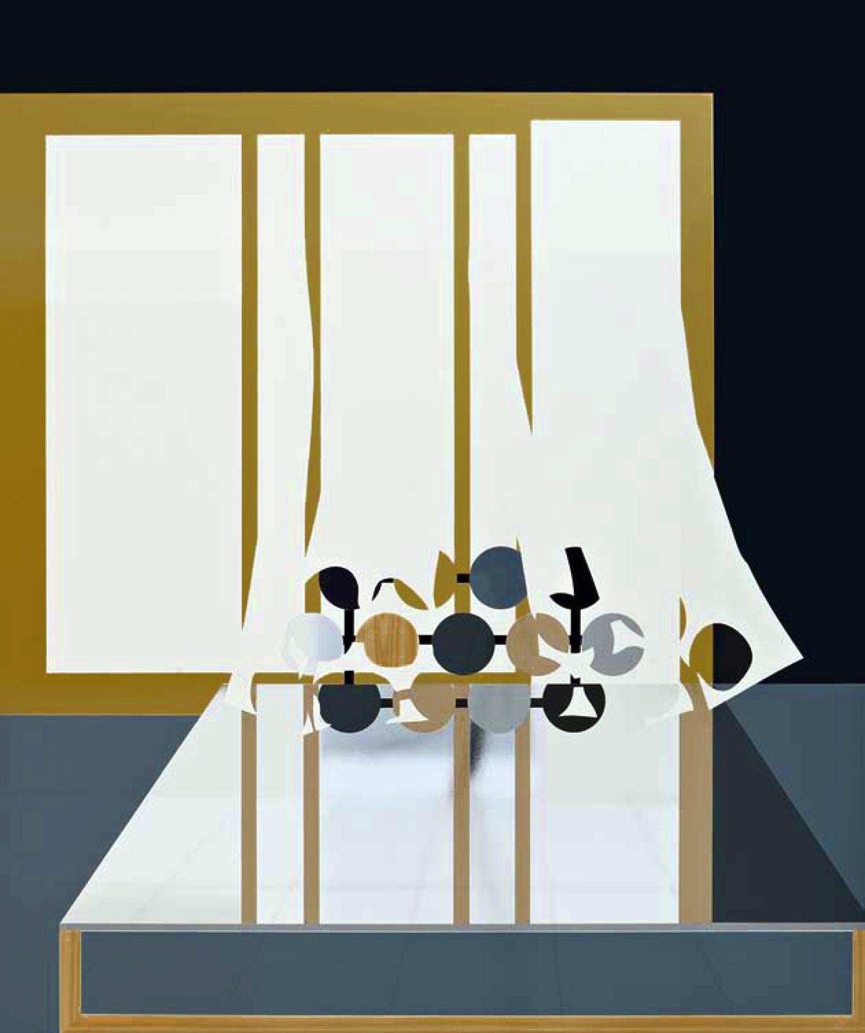 Sans titre (Intérieur 2), 2008