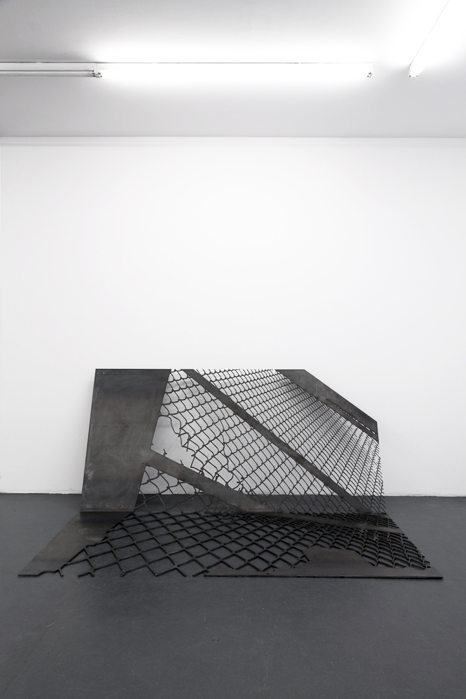Untitled Fence Structure, 2013
